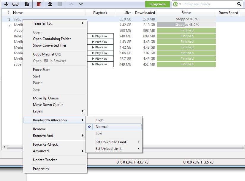optimize utorrent 3.5.4